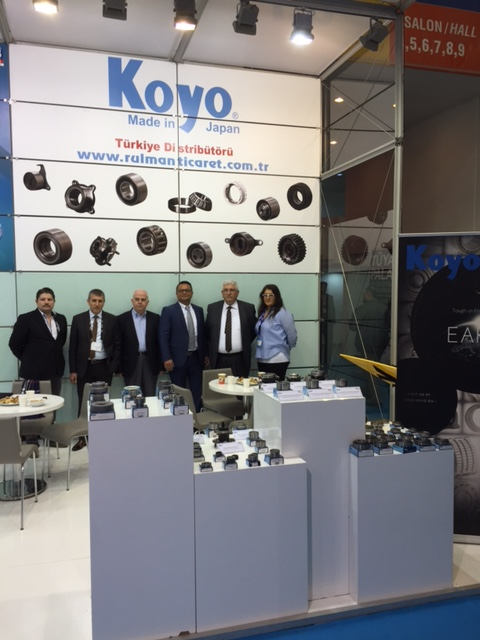Automechanika 2017 Koyo and Rulman Ticaret