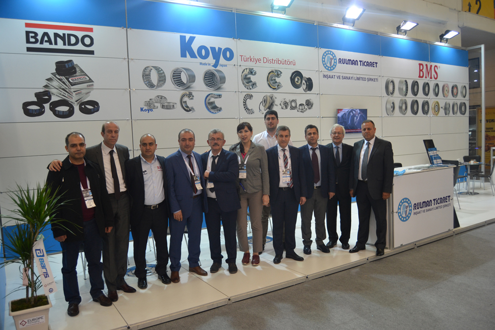 Automechanika 2018 Koyo and Rulman Ticaret